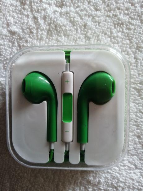 Fones de ouvido com microfone ajustável para IPhone 8 7 6 6s5 5S 4 4