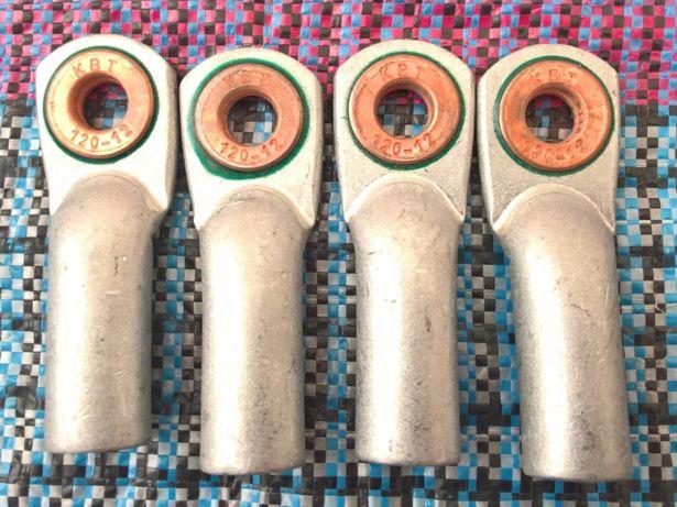 Наконечник медно-алюминиевый ТАМ 120-12-17 КВТ