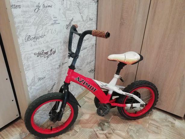 Велосипед детский Azimut rider 14 дюймов