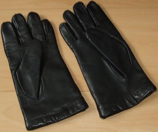 Rękawice ocieplane męskie skóra cielęca