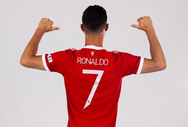 Camisola Man Utd Ronaldo 21-22