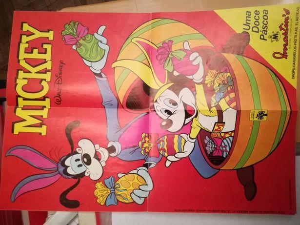 Poster colecionador mickey 1981