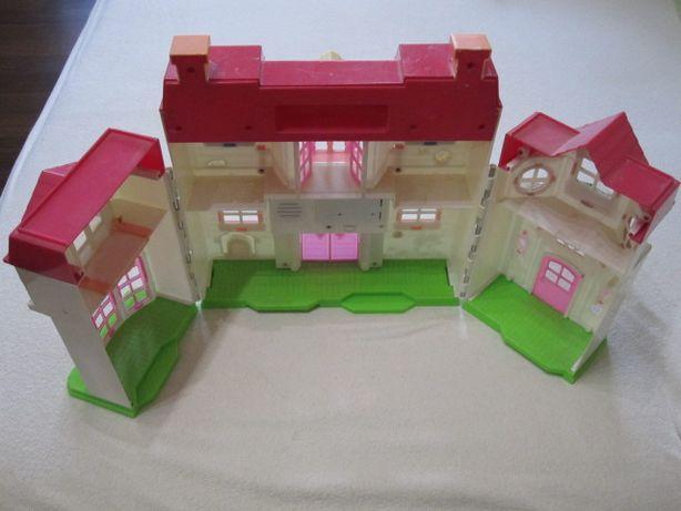 Игрушечный Кукольный домик, для маленьких кукол.