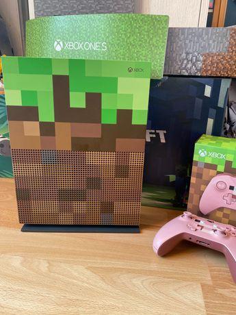 Konsola XBOX One S Minecraft edycja limitowana