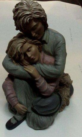 estátua de namorados