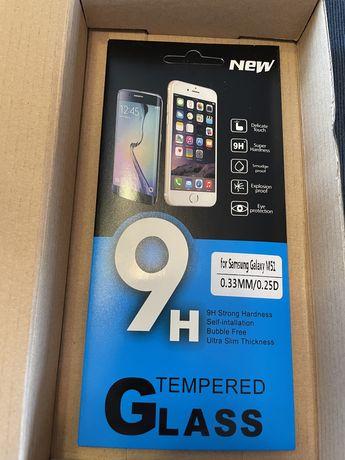 Hartowane szkło na telefon komórkowy samsung m51
