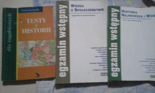 Egzamin Wstępny-Wiedza o społecz, Historia najnowsza, Testy z historii