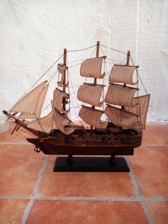 Barco caravela coleção, decoração