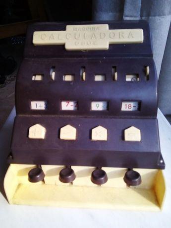 Máquina calculadora vintage OSUL