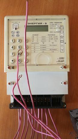 Счётчик с трансформаторами тока