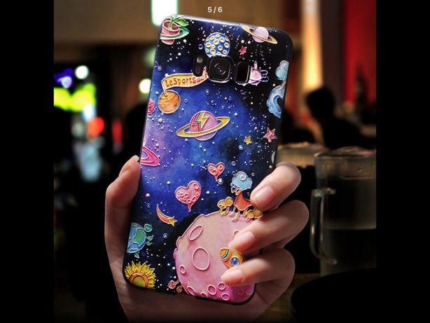 Чехол на Самсунг s8 s9 плюс Samsung galaxy S8 plus, S9 plus с 3D принт