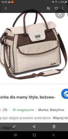 Śliczna torba baby ono dla mamy