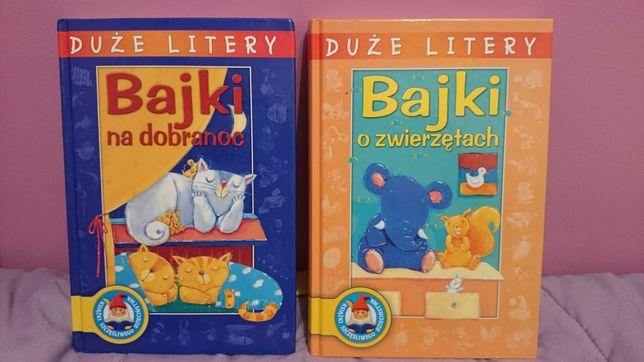 Bajki dla dzieci z serii Duże Litery