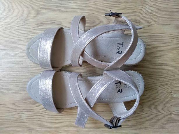 Sandały damskie 39