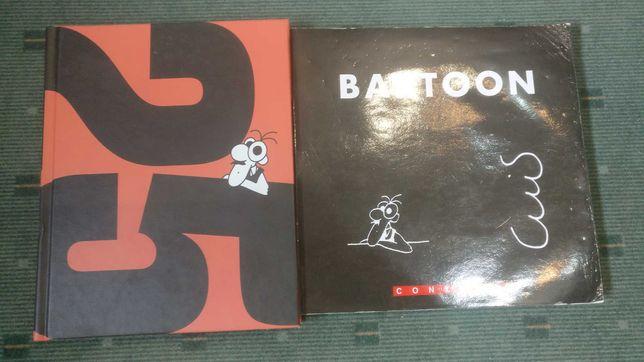 Bartoon - 2 Livros de Carttons de Luis Afonso