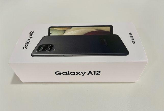 Galaxy A12 64GB | NOVO | SELADO na Caixa