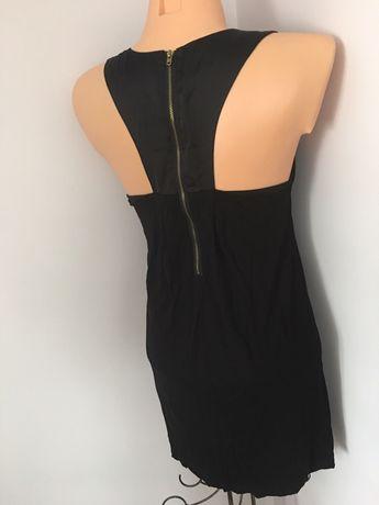 Czarna sukienka z tylu bokserka s/m BIK BOK