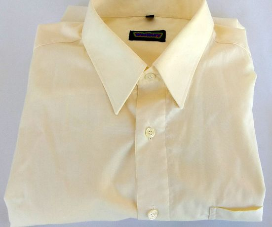 Męska koszula WESTBURY kremowa Rozm.XL/44 Bawełna 100%