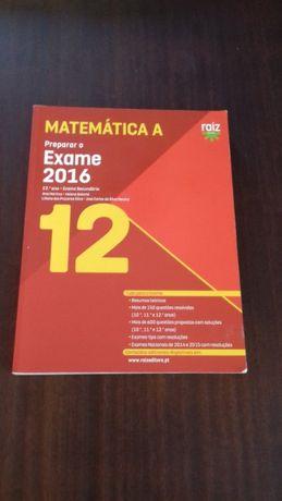 Manual de preparaçao para exame Matemática A