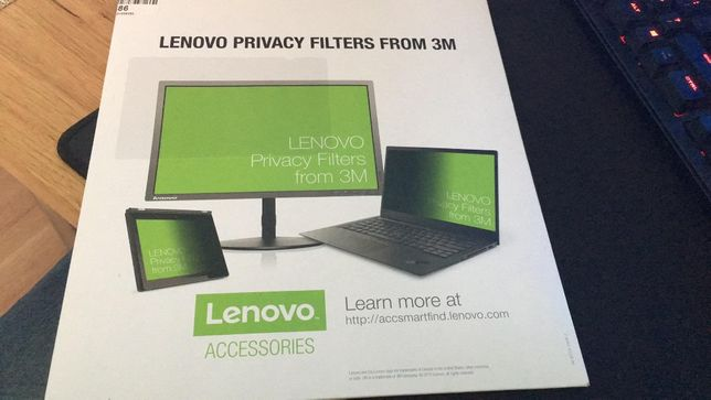 Filtr prywatności Lenovo ThinkPad Yoga 370 ,380, 390