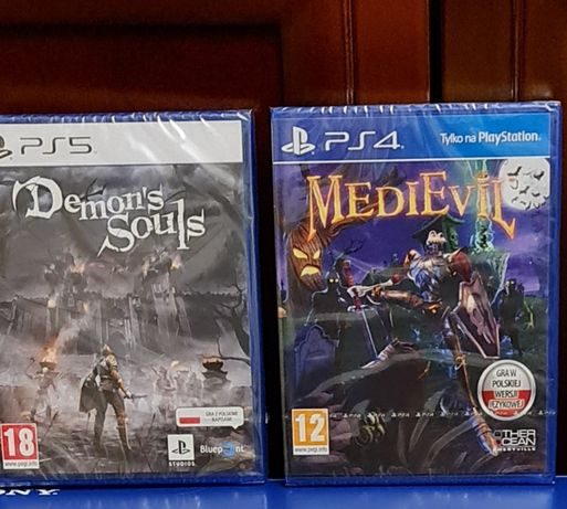 Gra PlayStation 5 Demons Souls pl zamiana Demon's Souls ps5