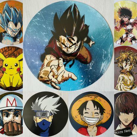 Pinturas originais de várias personagens de Anime & Manga, etc.