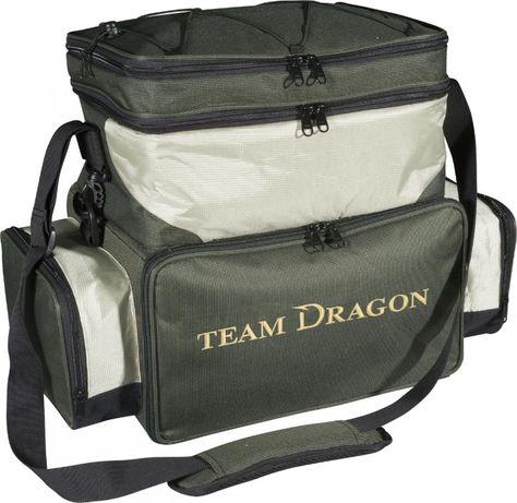 Torba spinningowa z pudełkami Team Dragon