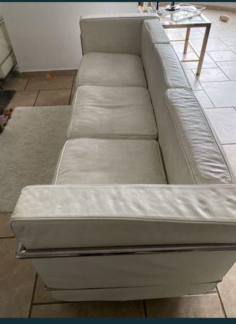 Sofa 2 i 3  jak LC 2 Cassina Le Corbusier