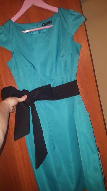 Sukienka wizytowa z kieszeniami damska rozmiar 36/S