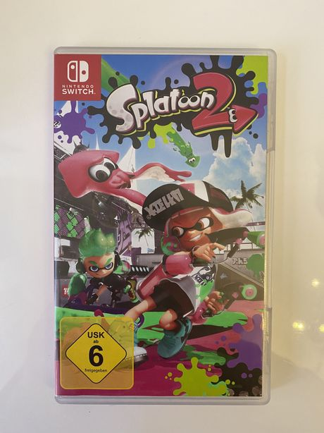 Gra na Nintendo Switch Splatoon 2