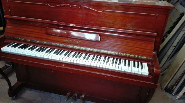 Idealne pianino Dreinhofer. Transport wniesienie gratis