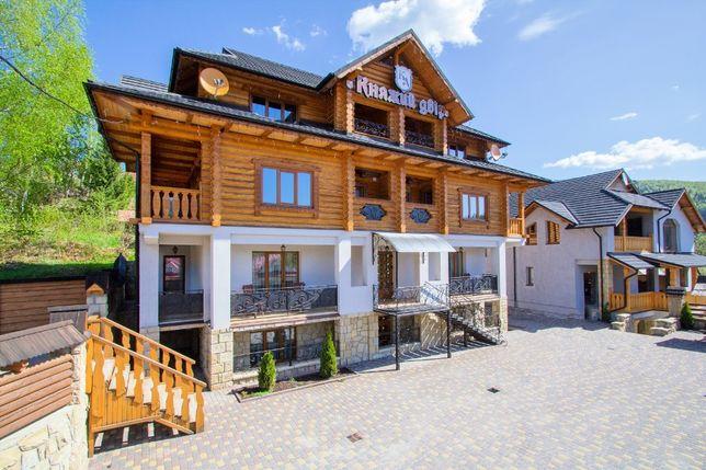Продажа гостиничного комплекса в г. Яремче «Княжий Двір»