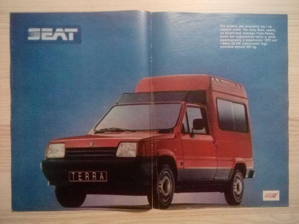 Plakat Poster SEAT Terra 33,5cm x 47cm Samochody Auto Cars Motoryzacja