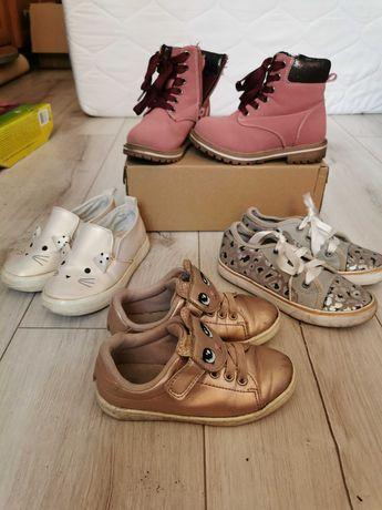 Półbuty trampki trapery zimowe buty roz 25-29