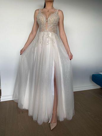 Suknia ślubna Brigitte Tom Sebastien 34,36