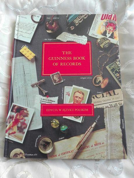 Księga Rekordów Guinnessa Pierwsza edycja w j.polskim1989 rok