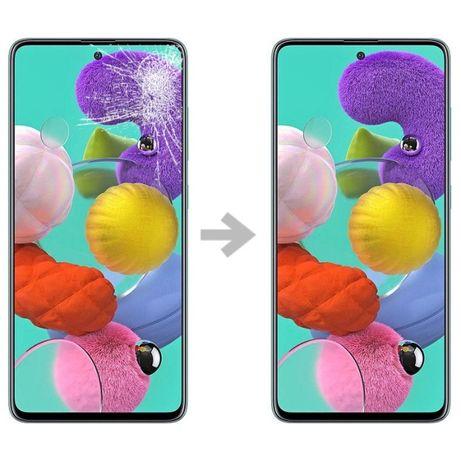 Samsung A21 A31 A41 A51 A71 wyświetlacz AMOLED wymiana gratis SERWIS