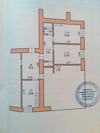 2-кімн. .38 м кв. які можна  облаштувати у 1-кім., повноцінну квартиру