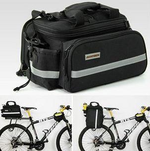 Вело сумка на багажник штаны велобаул/велосумка трансформер баул