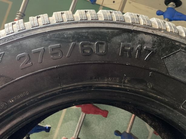 Opony 275/60 R 17