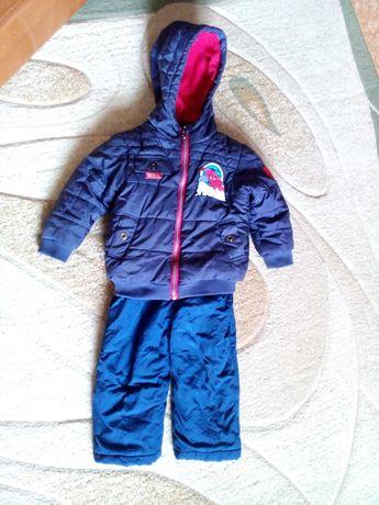 Комбинезон зимний 92-98 2-3 года Rugged Bear комплект курточка комлект