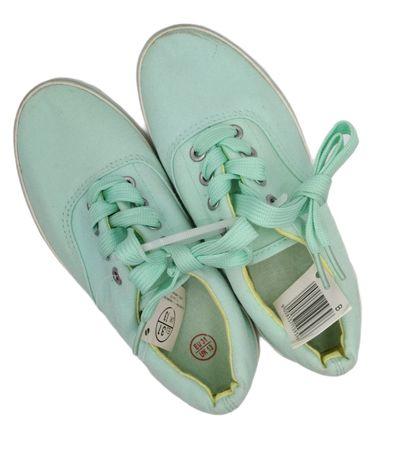 Кеды мята кроссовки подростковые новые. Кросівки кеди м'ята 34 р