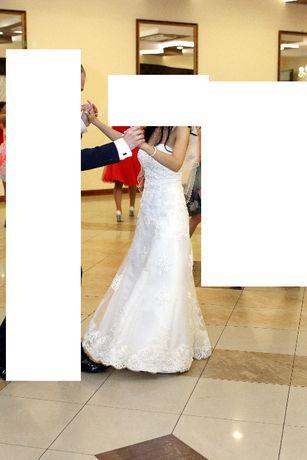Sprzedam suknię ślubną rozmiar 34-36