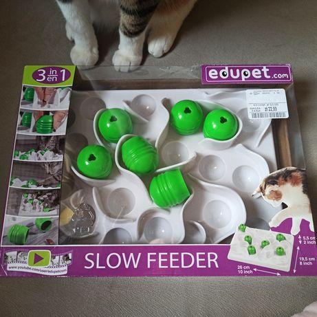 Zabawka dla kota/ slow feeder