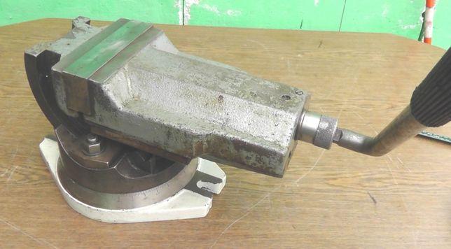 Imadło maszynowe uchylne/kołyskowe obrotowe Bison 160 mm stan idealny