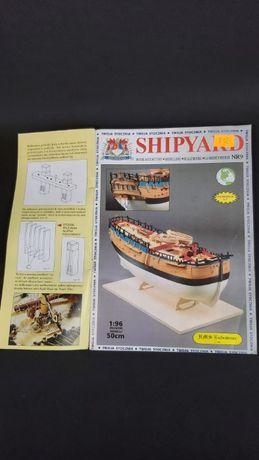 Shipyard Endeavour model kartonowy 1:96