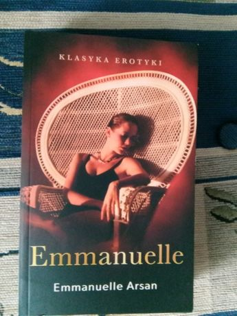 "Książka ""Emmanuelle"" Emmanuelle Arsan erotyk"