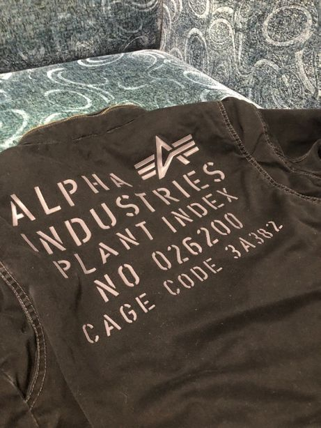 Alpha Industries M-65. Размер L.