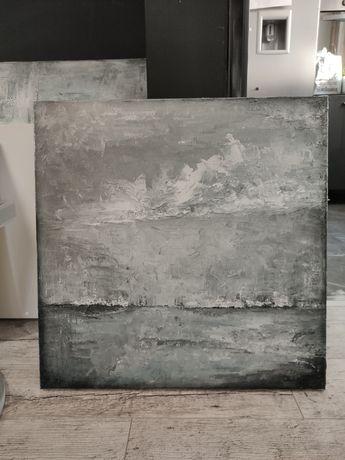 Akrylowy obraz na płótnie abstrakcja 50 x 50 cm