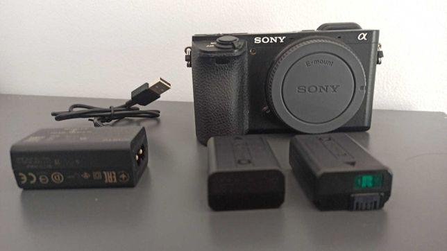 Sony a6500 + Bateria extra - COMO NOVA (Grava SLow Motion)